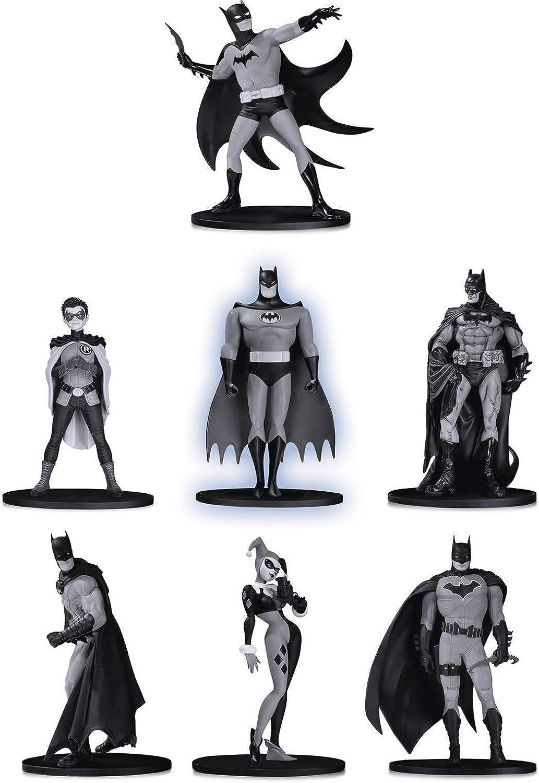 Batman Blanco y Negro por McFarlane versi/ón 2 DeluxeStatue DC Collectibles