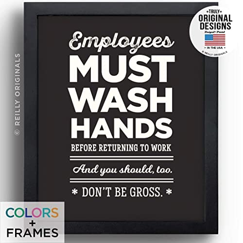 Image result for funny sign for employees must wash hands