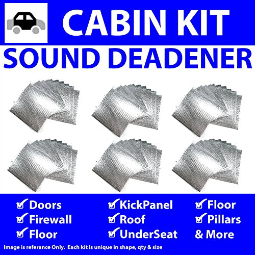 Zirgo 314706 Heat and Sound Deadener (for 50-88 Jaguar In Cabin Kit 6725cm2) by Zirgo