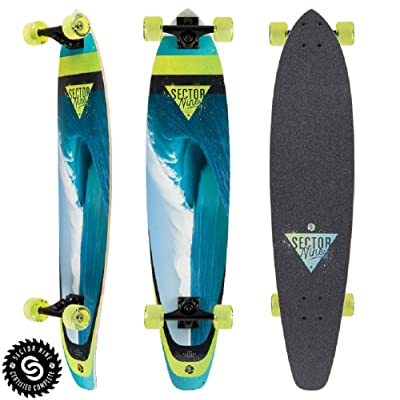 Sector 9 Cavern Cutback Complete Longboard : Sports & Outdoors