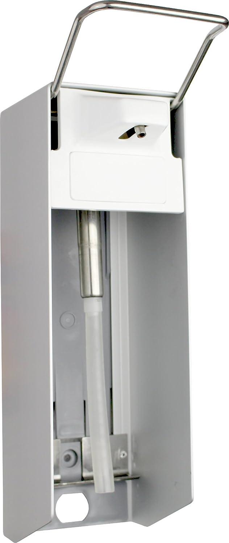 1000 ml Dispensador de pared Aluminio cepillado corto Barra del para Sterillium Medi-Inn: Amazon.es: Salud y cuidado personal