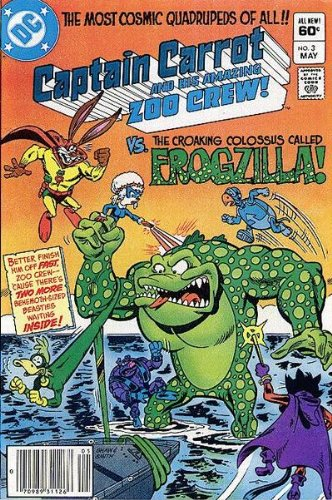 Captain Carrot and His Amazing Zoo Crew #3 Vol. 1 May 1982