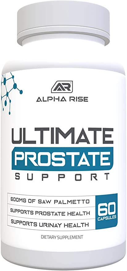 Amazon Com Ultimate Prostate Support Supplement For Men 600mg Saw Palmetto 300mg Pygeum 16 Herbs For Enlarged Prostate Hyperplasia Zinc Relief From Frequent Urination 60 Capsules Health Personal Care