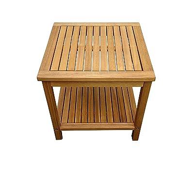 SAM® Table de jardin en bois d\'acacia, certifié FSC® 100 ...