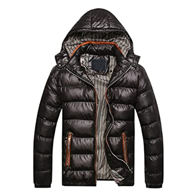 Amazon.com: Surprise-Show 2017 Winter Jacket Men Coat Slim ...