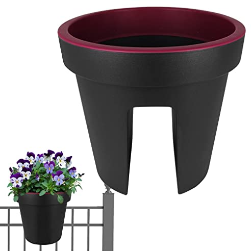Kunststoff Blumenkübel - Balkon Pflanzkübel - Pflanzgefäß Balkon ...