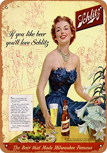 Schlitz Beer - Vintage Look Reproduction 2 (Schlitz Beer)