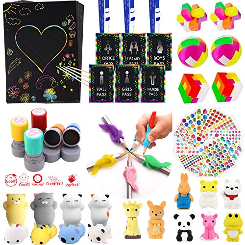 90Pcs Novelty Treasure Box Prizes For Classroom,Teacher Supplies For Classroom Organization,Special Education School Supplies,Art Supplies For Kids,Carnival Prizes,Pinata Fillers,Party Favors For Kids