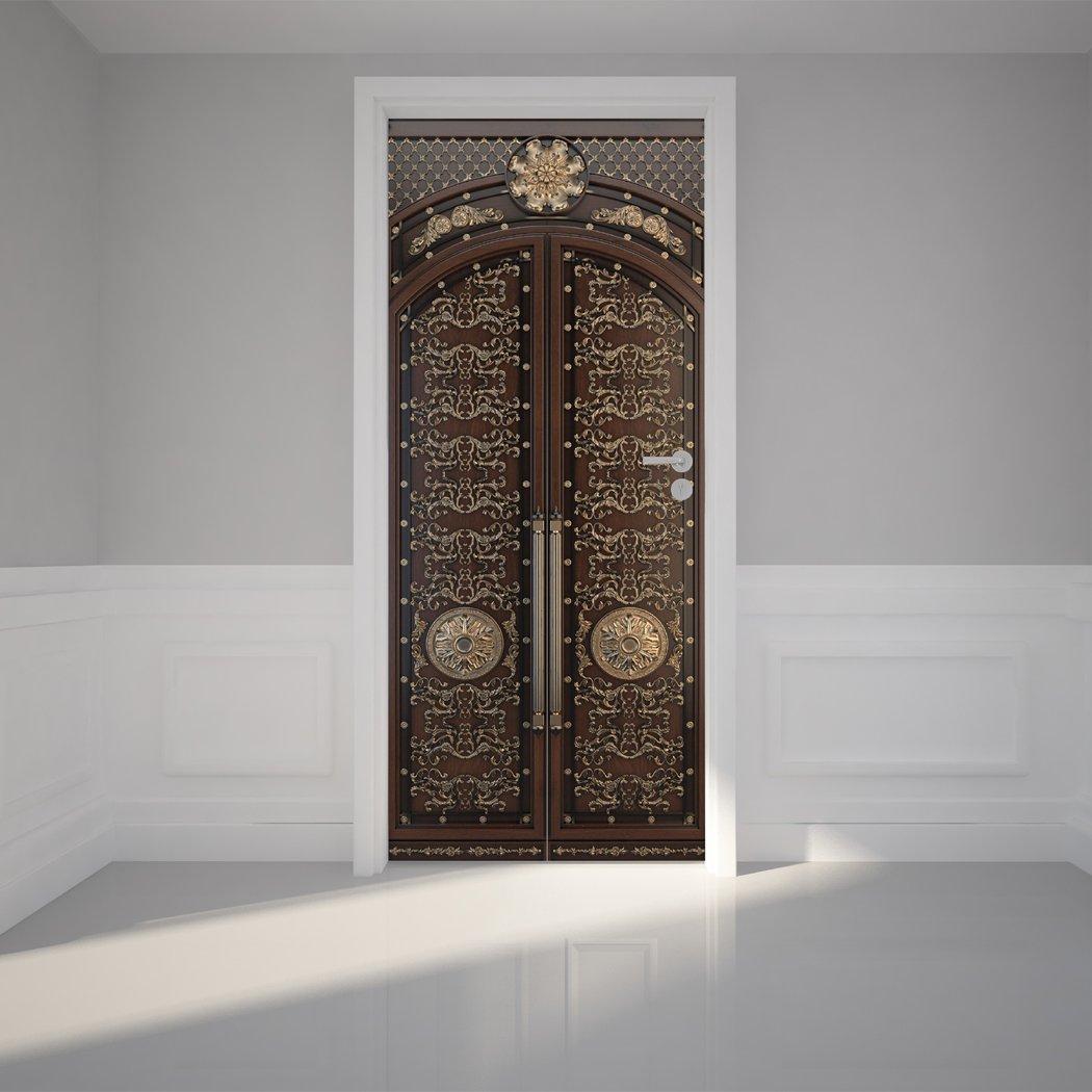 Door wall sticker classic door zenon peel w x 79h 80 x 200cm