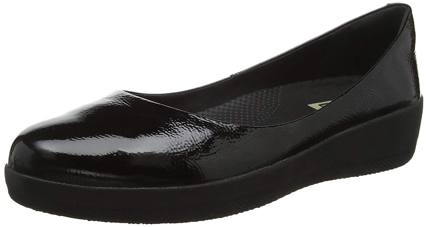 e2cb810c41b Fitflop Women s Superballerina Ballet Flats  Amazon.co.uk  Shoes   Bags