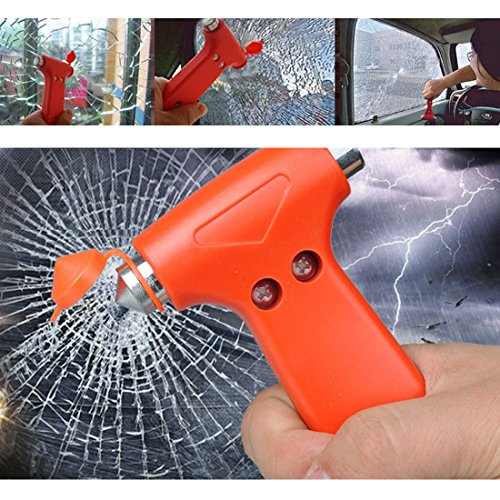uxcell Plastic Handle Car Auto Safety Emergency Break Hammer 133mm Long 2pcs by uxcell (Image #5)