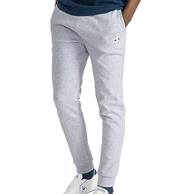 Le Coq Sportif Pantalon Essentiels Regular Gris  Amazon.fr ... 22b58966fb04