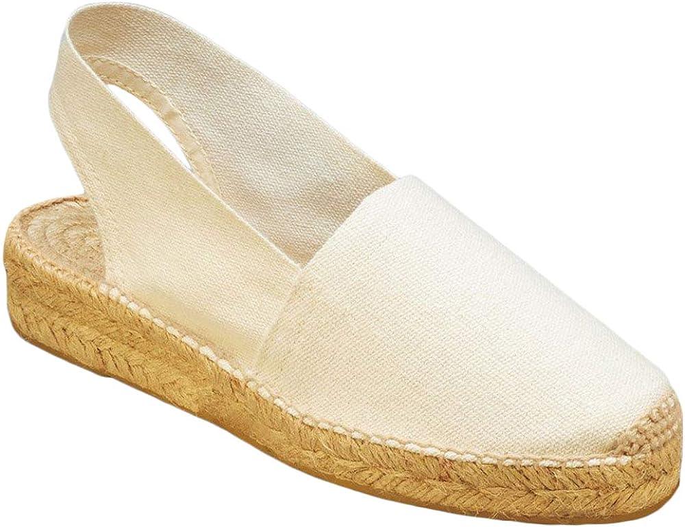 Ruanyu Platform Espadrille Flat Sandals