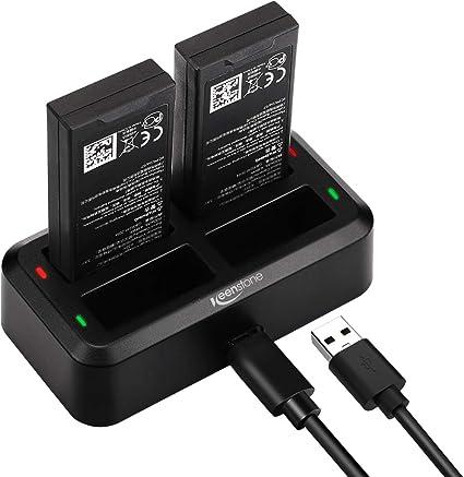 Amazon.com: Keenstone - Cargador de batería 4 en 1 para DJI ...