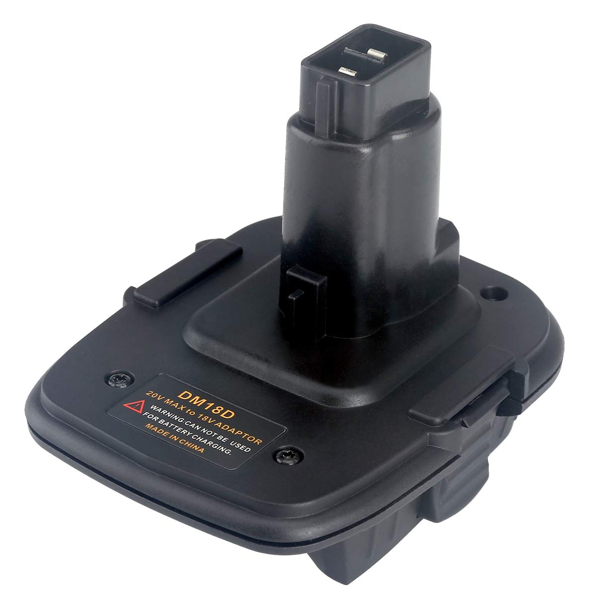 Battery Adapter for Dewalt DM18D Converter Milwaukee Battery to Dewalt Tools FHJ