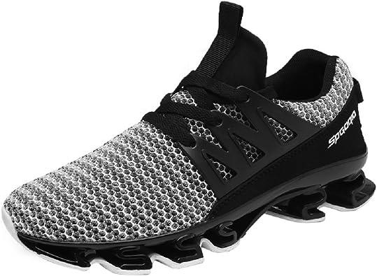 NEOKER Zapatillas Running Hombre Sneakers Calzado Deportivo ...