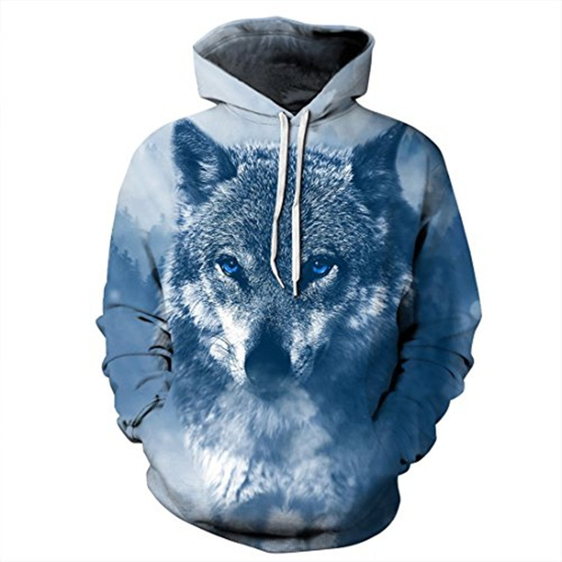 739f2d3704764d Wolf Cool Hoodies Suitable for Women Men Girl Boy