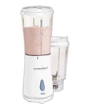 Hamilton Beach 51102 Batidora de vaso Blanco - Licuadora (Batidora de vaso, Blanco, Acero inoxidable): Amazon.es: Hogar