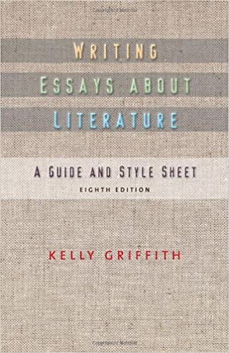 com writing essays about literature  com writing essays about literature 9781428290419 kelley griffith books