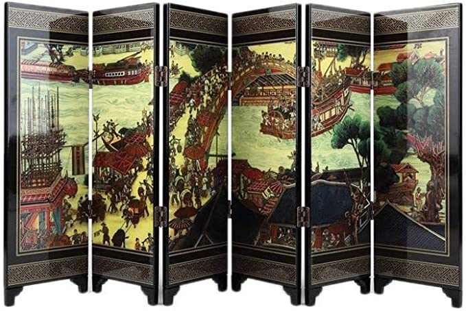 lachineuse Paravento in Miniatura Cinese Antico