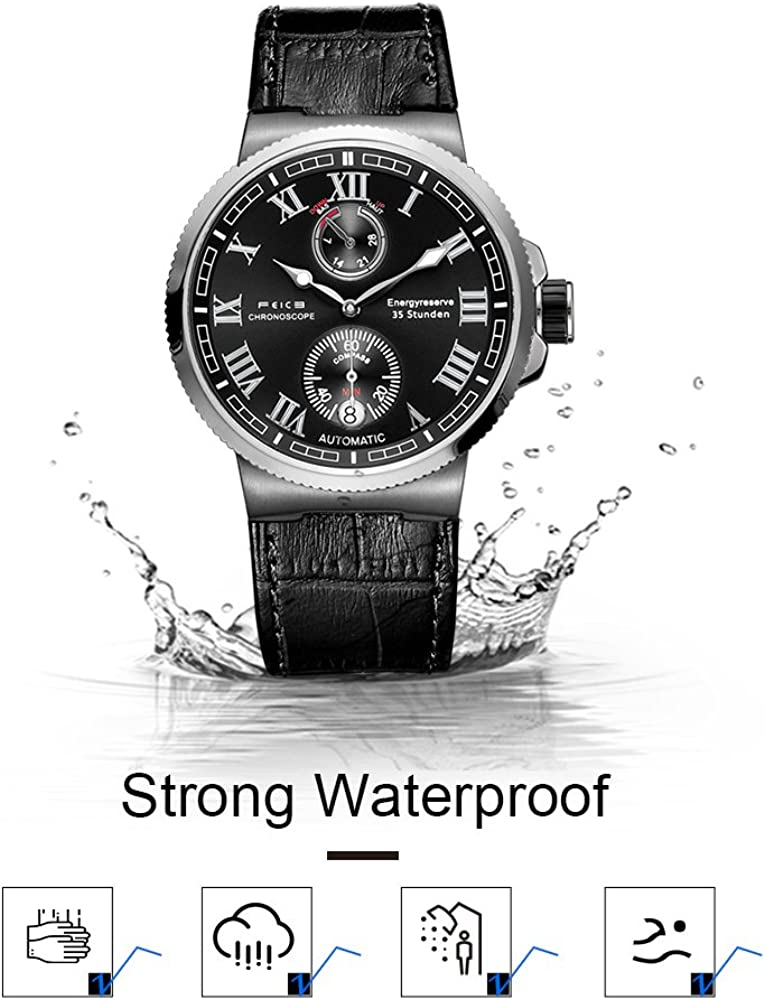 FEICE Men s Automatic Watch Mechanical Analog Waterproof Wrist Watches Sapphire Sport Swimming Mens Watch Timepiece Casual Dress Watches for Men -FM1405