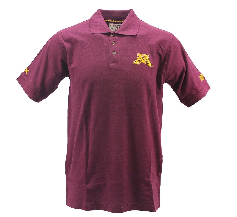 Pressbox Mens Minnesota Gophers Maroon Polo Shirt At Amazon Mens