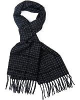 Men's Luxury Elegant 100% Lambswool Scarf Premium Quality - 9 Designs