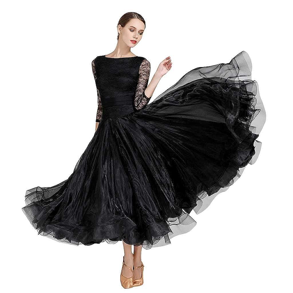 本物品質の 美しい花の近代的なダンスドレス M ブラック、大人の黒いドレス B07H29P8MN M ブラック M ブラック B07H29P8MN M, ワッサムチョウ:3c3be129 --- getkiddyfox.com