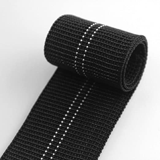 HAPPERS Cincha Media elástica para tapicería Ancho 6cm. Se vende por metros
