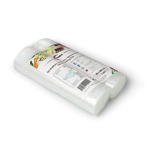 Wimex Bolsas AL Vacío para Alimentos Paquetes 100 Piezas (2 ...
