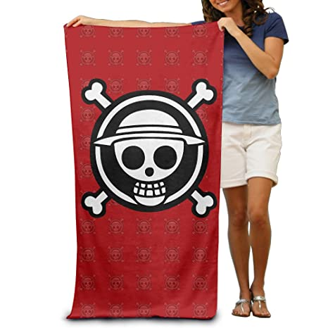 "One Piece Luffy Logo 31,5 ""51"" toalla de playa"
