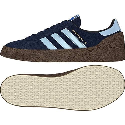 Adidas Montreal 76, Zapatillas de Deporte para Hombre, Azul (Maruni/Celcla/Dormet 000), 44 2/3 EU: Amazon.es: Zapatos y complementos