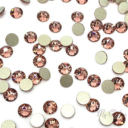 スワロフスキー XIRIUS ラインストーン (2088) SS30 - ブラッシュ ローズ (257) 裏面プラチナフォイル x 288粒の商品画像