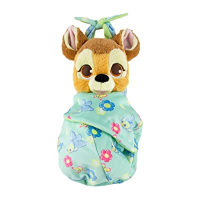 Disney Parks Baby Bambi in a Blanket Pouch Plush New with Tags: Toys & Games