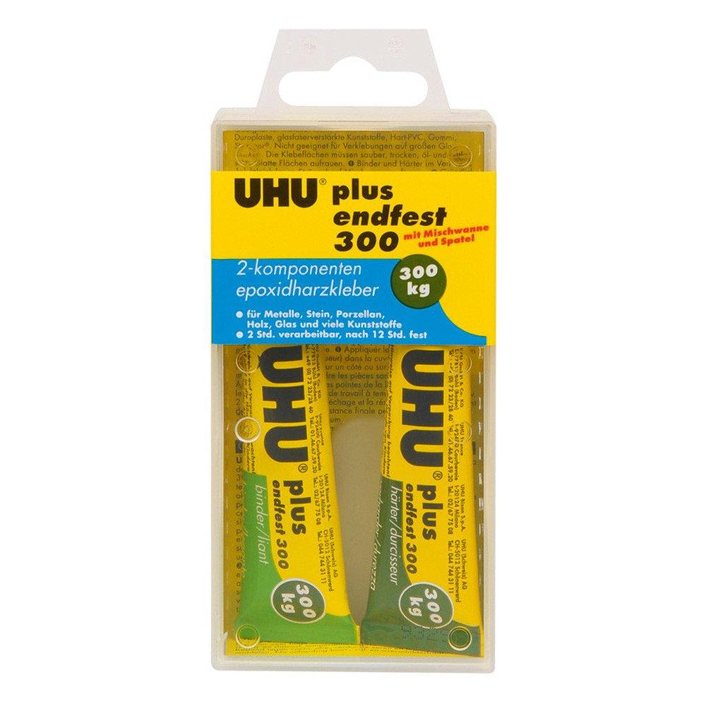 UHU colle à 2 composants plus endfest 300, 33 g en tube 45640