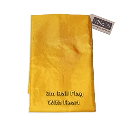 Amazon Com 3m Bali Flag Gold Party Theming Weddings Events Satin