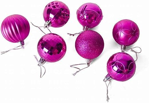Gerimport Pack de 40 Bolas de Navidad 6 cm El Pack Contiene 40 ...