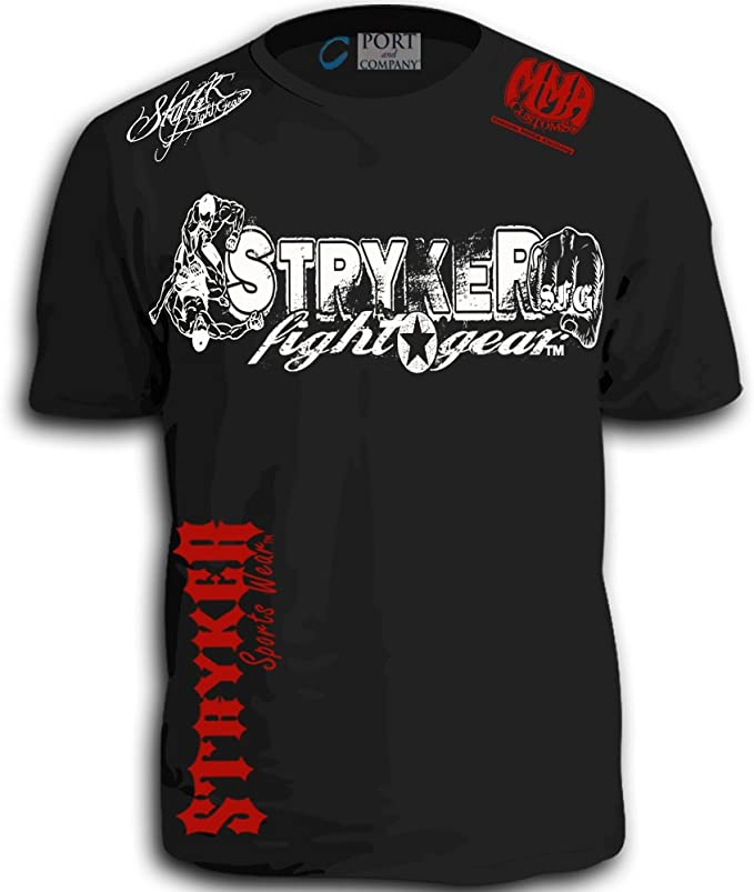 Stryker MMA Fighters Shorts Sleeve T-Shirt Top Tapout UFC ...
