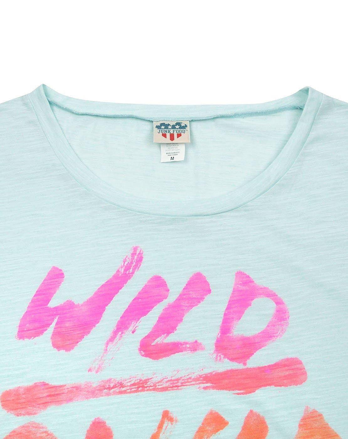 Amazon.com: Comida chatarra Wild Child – playera para mujer ...