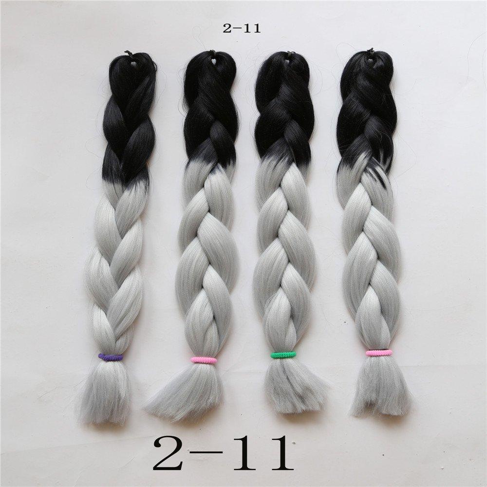 Amazon Angelbabyhair Ombre Synthetic Hair Braiding Straight