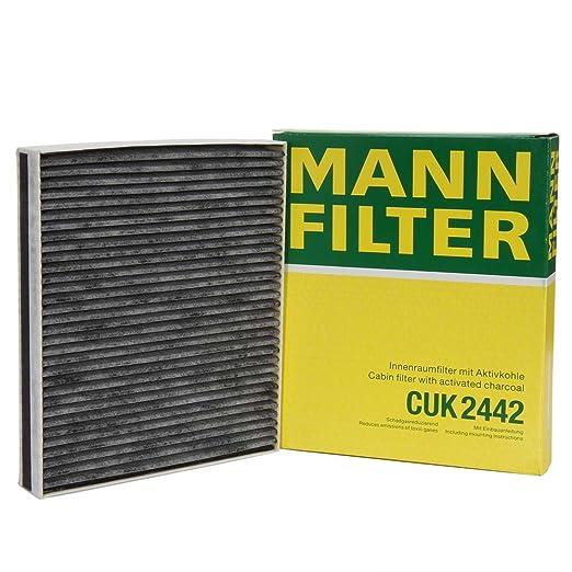 8 opinioni per Mann Filter CUK 2442- Adsotop Filtro, Aria Abitacolo