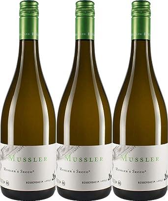 Mussler Mussler S Secco 3 X 0 75 L Amazon De Bier Wein
