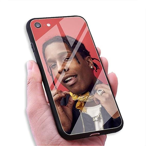 official photos b802c 30dc7 Amazon.com: RUIWEI RWNO-63 ASAP Rocky Rapper Designed for iPhone 7 ...