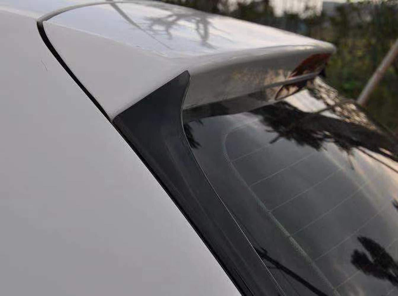 non adatto per GTI /& R 1 paio di spoiler laterale per finestrino posteriore automatico per VW POLO 2010-2018 Car Styling Trim lato esterno lunotto posteriore Decorare ala Ala spoiler per auto