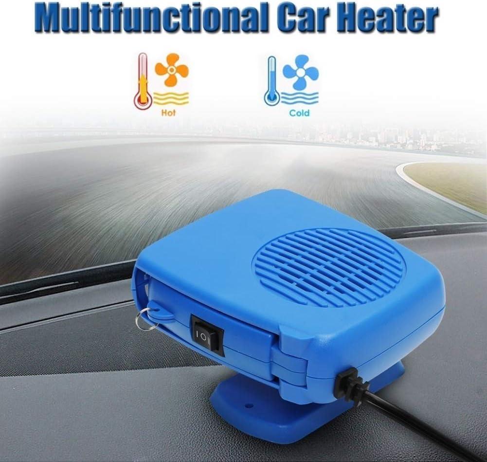 856store Fans Cooling 12V 200W Mini Portable Car Heater Cooling Fan Ceramic Heating Defroster Demister