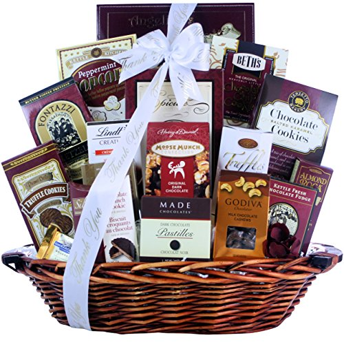 Great Arrivals Thank You Chocolate Gift Basket, Chocolate Madness (Cakes Harry David And)
