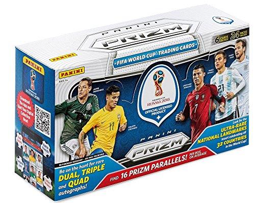 2018 Panini Prizm World Cup Soccer HOBBY box (24 pk) - Soccer Hobby Box