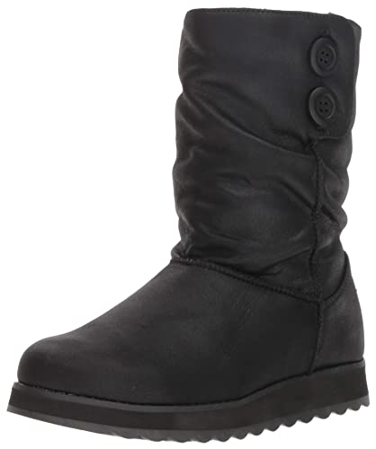 298c789a186e Skechers Women s Keepsakes 2.0-Big Button Slouch Mid Boot Fashion