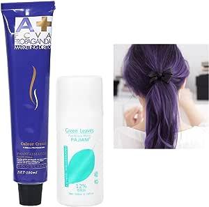 Zetiling Crema del tinte de pelo, cera del pelo de la crema del ...