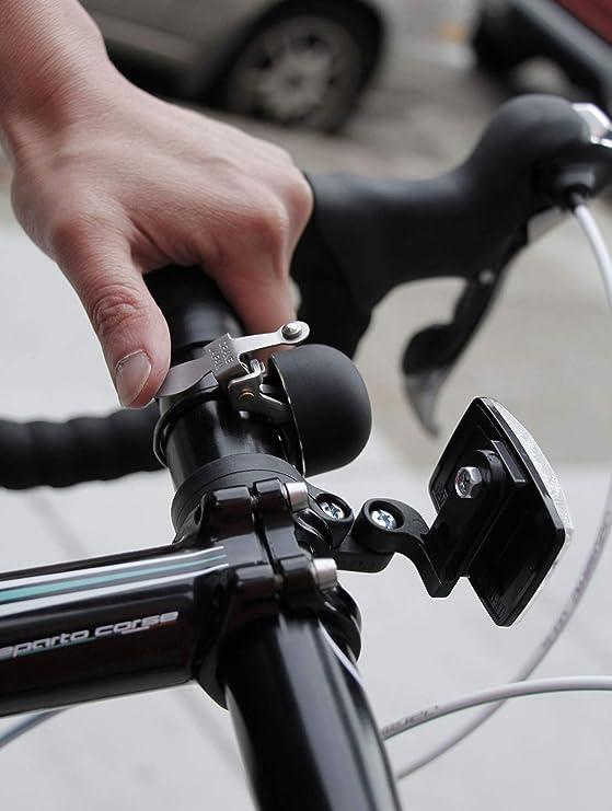 Crane Mini Suzu bicycle stem bell polished